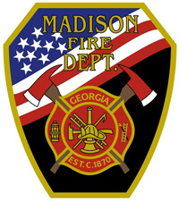 Madison Fire Department Patch