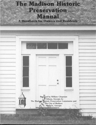 Historic Preservation Manual Cover