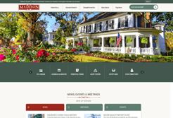 Screen capture of madisonga.com home page