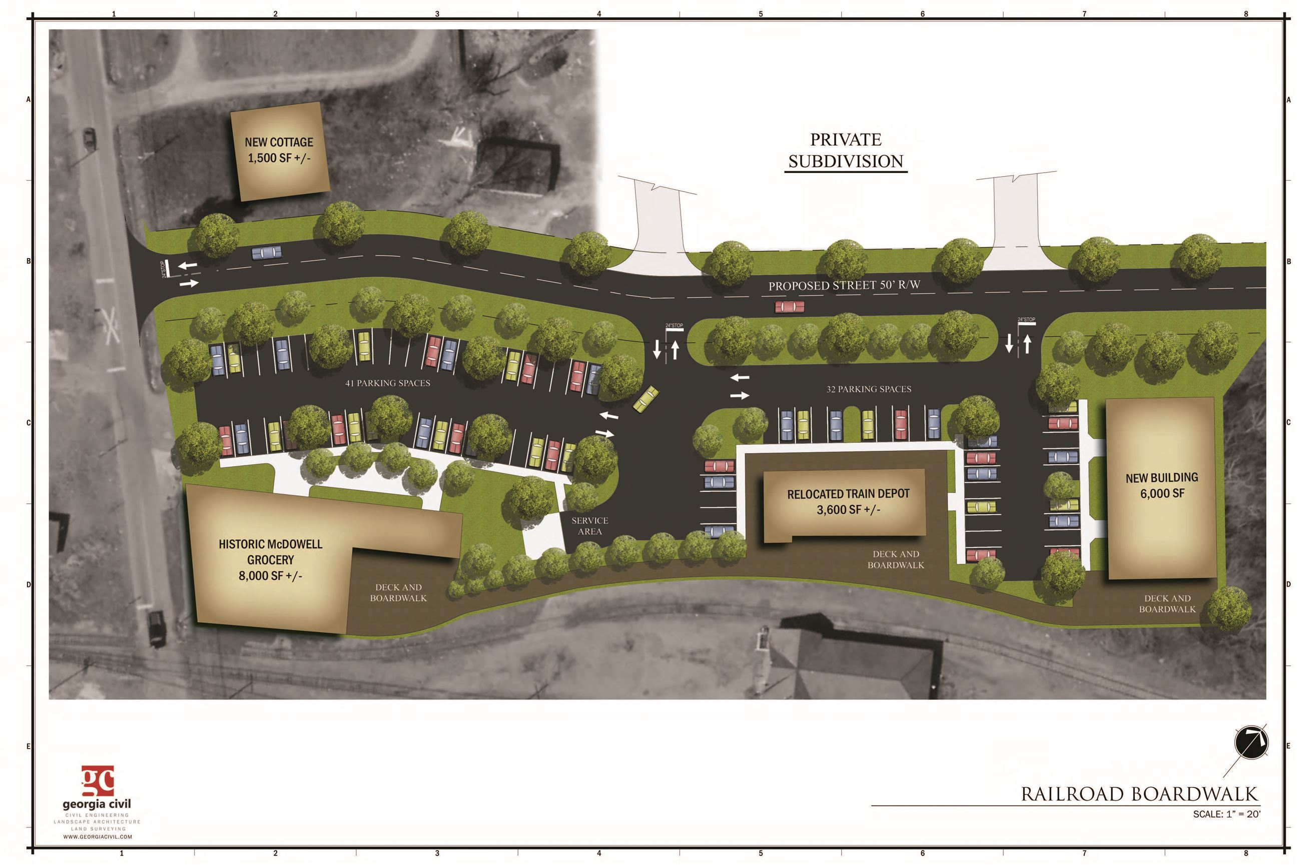 McDowell Rehabilitation_Site Plan