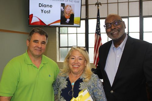 David Nunn, Dianne Yost, and Fred Perriman