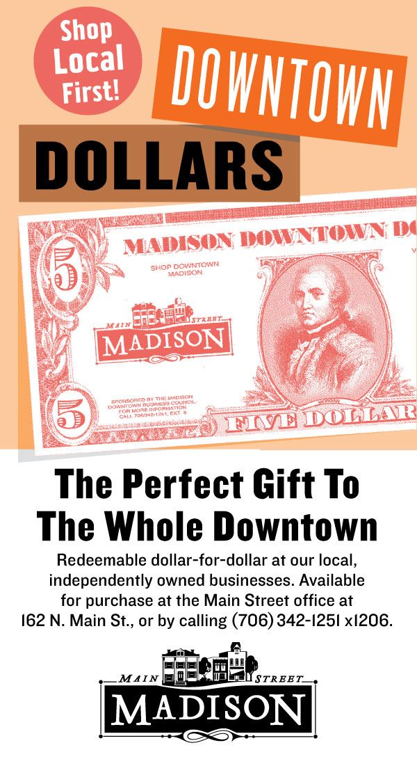 Buy Downtown Dollars