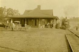 Picture of Central of Georgia Depot