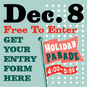 Holiday Parade Entry Form
