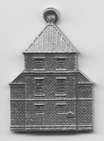 Old County Jail Ornament