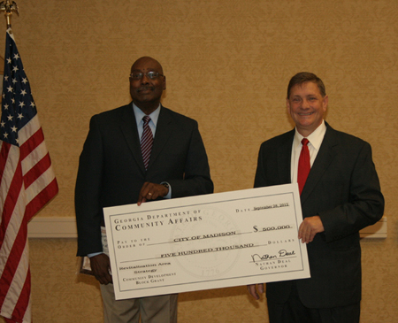 Grant Award - Mayor Perriman and Comm. Beatty
